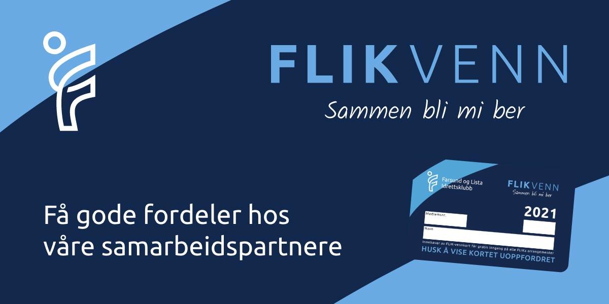 Lenke til FLIK-venn som gir fordeler hos våre samarbeidspartnere